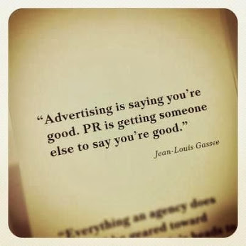 advertising vs PR